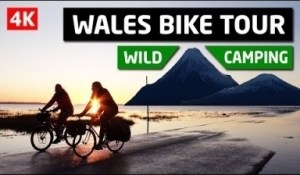 Video: Coast To Coast Adventure - Wales Bike Tour And Wild Camping
